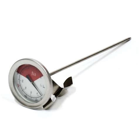 thermometer deep fry companion charcoal fryer depot