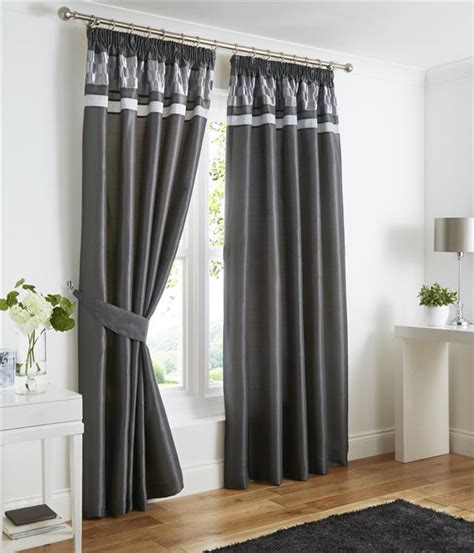 charcoal grey curtains pencil pleat lined curtains plum black or charcoal grey