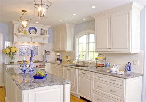 White Modern Classic Kitchen  Traditional Kitchen