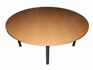 Table Ronde 6 Personnes 160cm Adopte Un Bureau