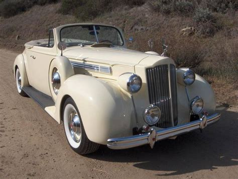 1939 packard 120 convertible coupe resto mod for sale