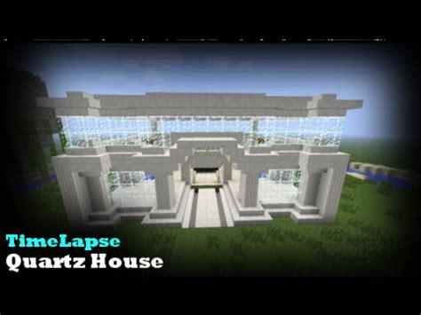 minecraft timelapse quartz building msrl entry video youtube