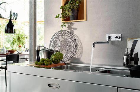 robinet cuisine mural mitigeur de cuisine uno2 mural axor ney