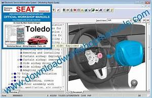 Seat Toledo Workshop Repair Manual