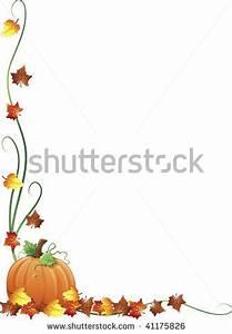 Clip Art Borders for October Clipart