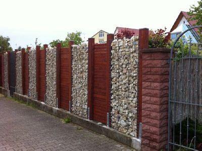 Palisaden Aus Holz Eine Alternative Zur Steinmauer by Gabionen Sind Steink 246 Rbe Die F 252 R Ihren Garten Oder Ihr