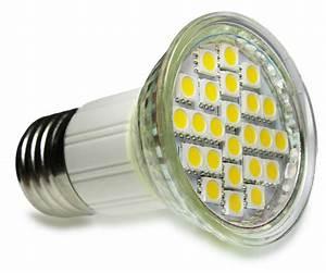 Ampoule E27 Led : ampoule led e27 jdr 5w 24 led smd 5050 ~ Edinachiropracticcenter.com Idées de Décoration