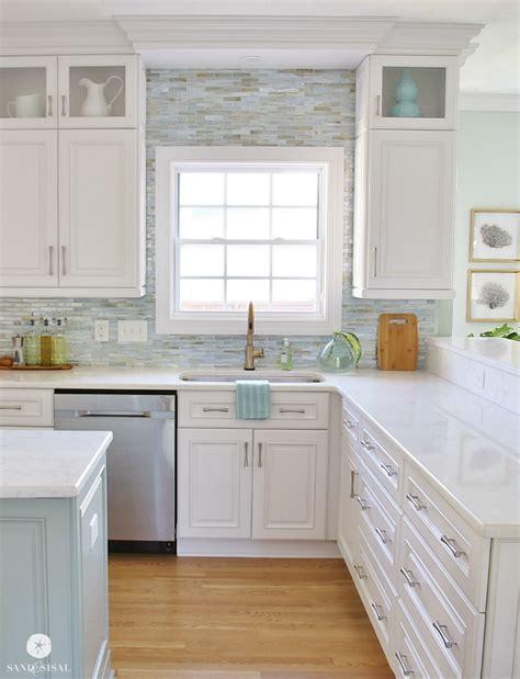 backsplash in white kitchen installing a paper faced mosaic tile backsplash