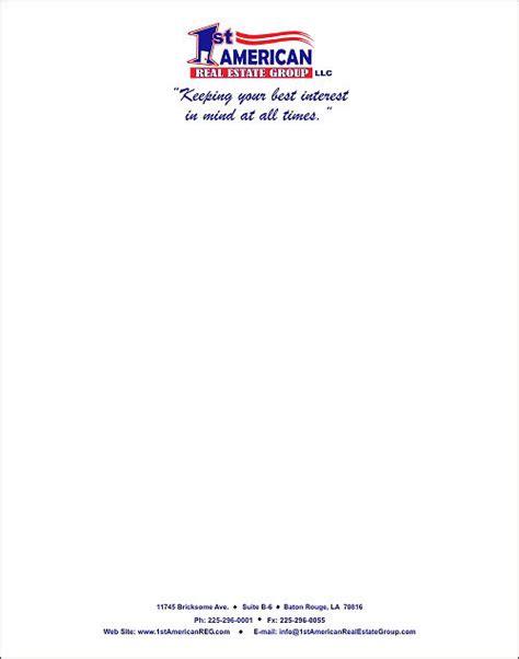 examples  letterheads  printable letterhead