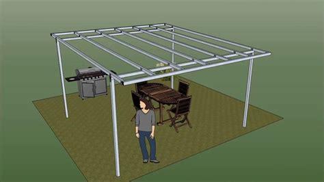 come costruire una tettoia in ferro gazebo libero in ferro pergola in ferro