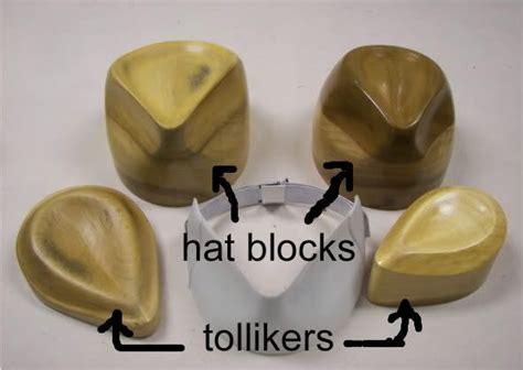 hat manufacturing equipment la bricoleuse hat block