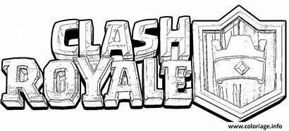 Clash Royale Coloriage Colorir Colorare Officiel Desenhos
