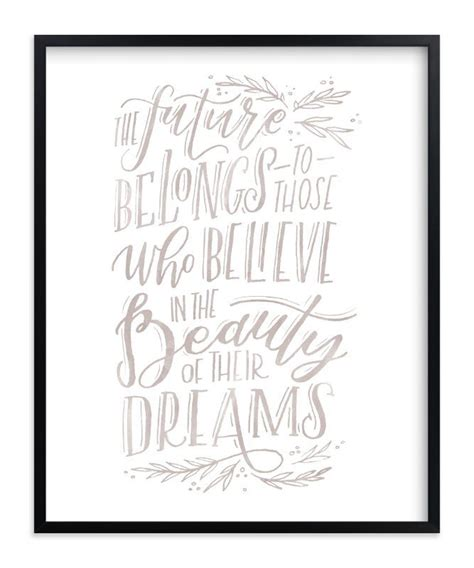 beauty  dreams art print products journal fonts