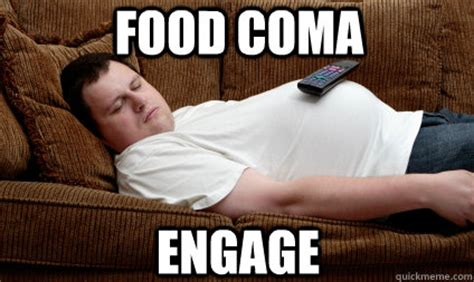 Food Coma Meme - five signs of getting old halloween edition paper pen pixel