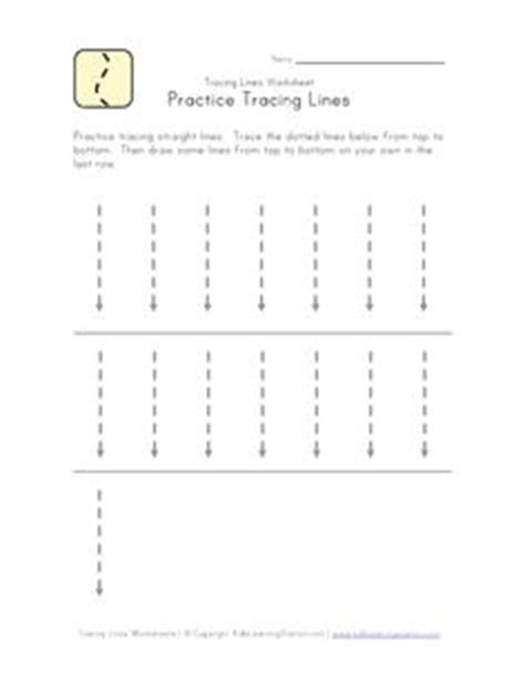 tracing lines images preschool lessons