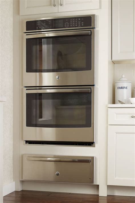 double oven cabinet  warming drawer diamond cabinetry