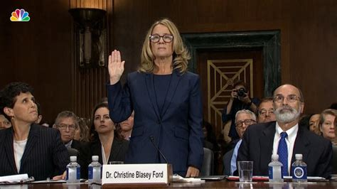Christine Blasey Ford Recalls 'uproarious Laughter' In