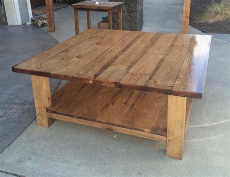 rustic coffee table diy plans rustic coffee tables