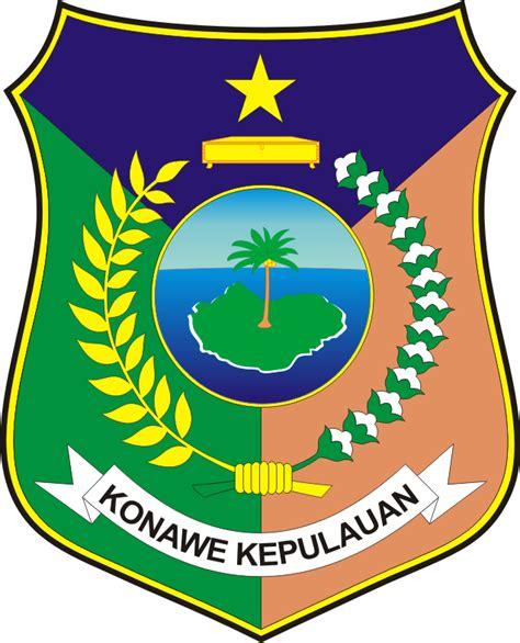 logo kabupaten konawe kepulauan sulawesi tenggara logo