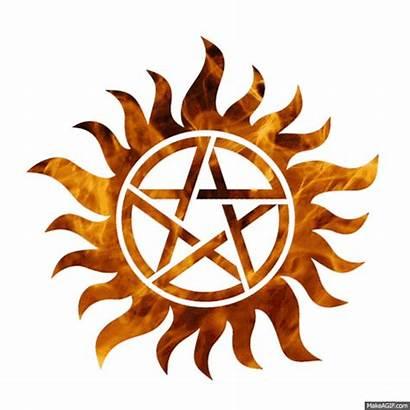 Anti Possession Supernatural Symbol Symbols Spn Winchester
