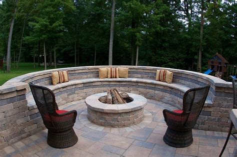 cinder block pit diy pit ideas for your backyard
