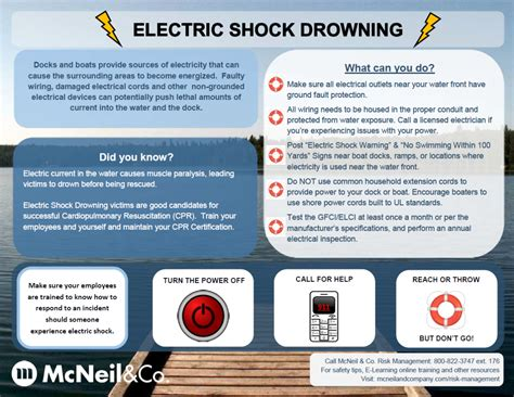 to prevent electric shock you should safety tips to prevent electric shock drowning rinehart insurance agency