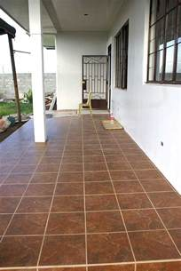 Philippine House Project Tiling Effective Porch Flooring Options