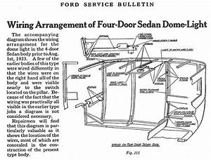 Model T Ford Forum  Another 26 Fordor Dome Light Question