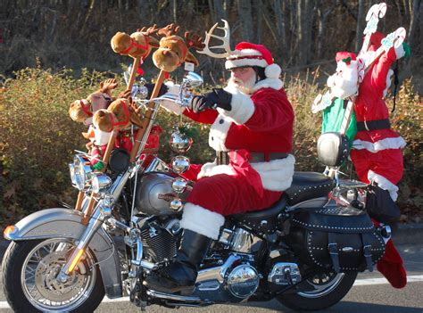 Bikers Braved The Cold For The 36th Annual Olympia Toy Run