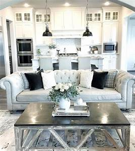 26 kitchen living room ideas open plan kitchen living With kitchen cabinet trends 2018 combined with austin texas wall art