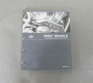 Harley Davidson 2005 Vrsc Models Parts Catalog 99457