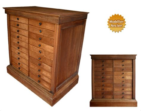 meuble à tiroir bureau meuble de métier à tiroirs