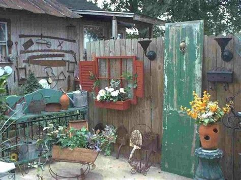 The Best Garden Junk Ideas Pinterest Primitive