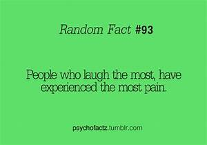 People who laug... Pain And Laughter Quotes