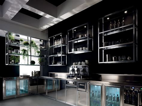 Mensole Bar by Arredo Bar Modello Alukuadro