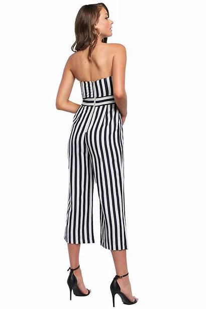 Jumpsuit Stripe Bow Jumpsuits Clothing Bardot Ladies
