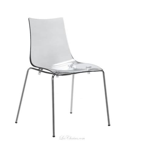 chaise transparente design chaise design empilable zebra et chaises design chaises