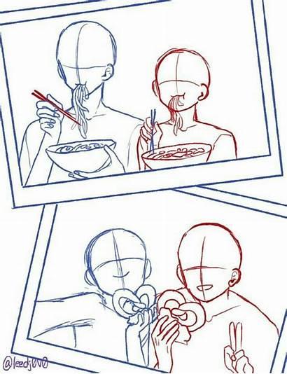 Poses Reference Pose Anime Base Drawings Drawing