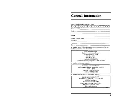 ford crown vic owners manual owners manual