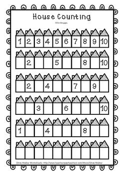 numbers   worksheets numbers  ten printables