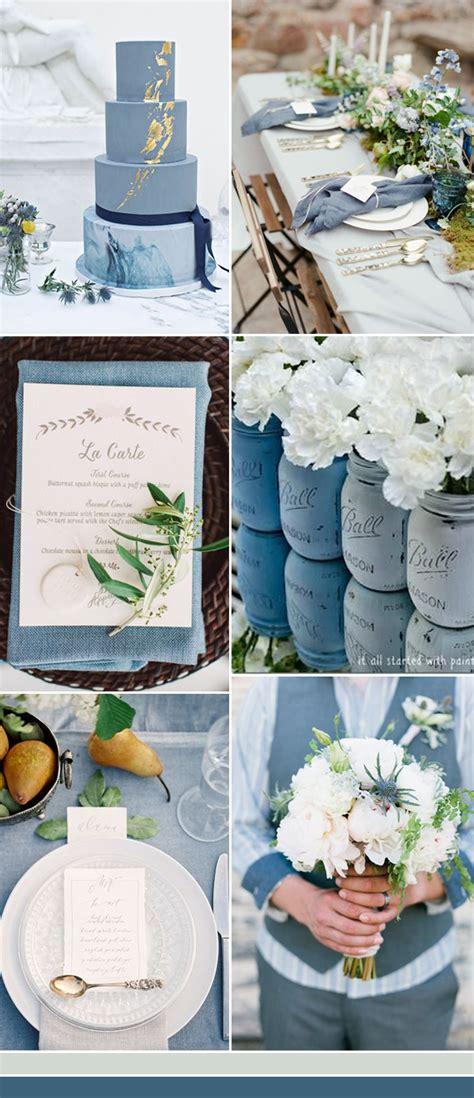 the best shades of blue wedding color ideas for 2017 stylish wedd blog