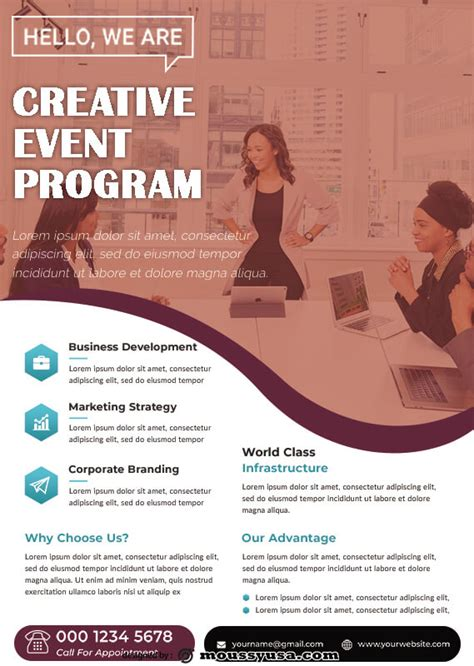 10+ Printable Event Program template free psd | Mous Syusa