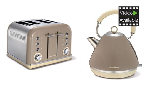 morphy richards toaster and kettle morphy richards kettle toaster groupon goods