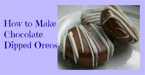 how to make chocolate covered oreos how to make chocolate dipped oreos at home cheap and easy