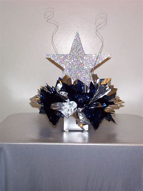 allstar themed centerpieces google search party time