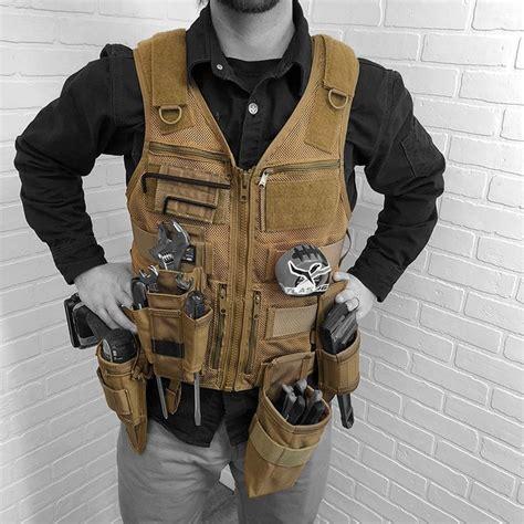 saratoga tool vest plumber kit woodworking clothing