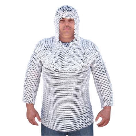 aluminum chainmail armor  hood  sale