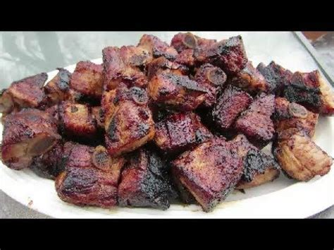 smoked boneless riblets grilled teriyaki pork riblets the wolfe pit cast iron cooking pinterest pork the o jays