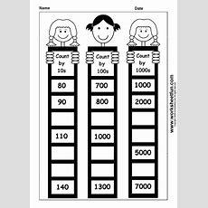 Skip Counting By 10, 100 And 1000  1 Worksheet  Free Printable Worksheets Worksheetfun