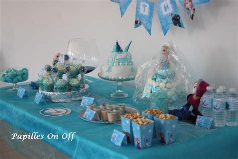 sweet table anniversaire reine des neiges au thermomix ou
